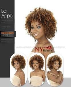 Vanessa Express Weave Half Wig   La Apple (Afro Type wig)