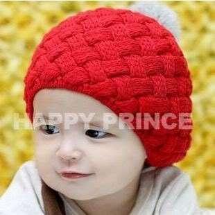 New Korea Style Soft Feeling Baby Boys Girls Rabbit Hair Pompon Knit
