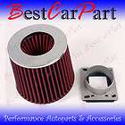 High Flow Adapter Filter, Complete Cold Air Intake Kit items in