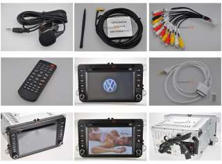 2006~2010 VW GTI Volkswagen DVD GPS Navigation Radio Double Din In