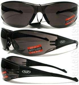 Full Throttle Smoke Lens Safety Glasses Motorcycle Sunglasses Z87.1