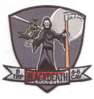 TROOP 4 6TH AIR CAVALRY #2 patch