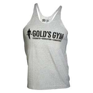 Golds Gym Tank Top Men´s , Golds Gym Muskelshirt Steel / Grau
