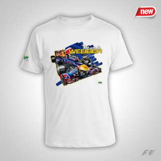 Mark Webber Webbo F1 Champion T Shirt Shirt