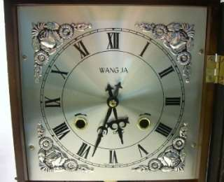 Wang Ja Wangja Korean 31 Day Mechanical Wall Clock w/Key Works Great