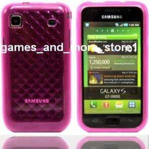 Design Gel Hard Case Samsung Galaxy S Plus i9001 PINK