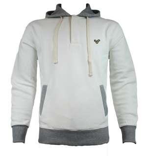 Voi Jeans Mens Adana Hoody SS11 Ecru/Grey