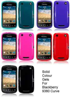 TPU GEL CASE / COVER FOR BLACKBERRY CURVE 9380