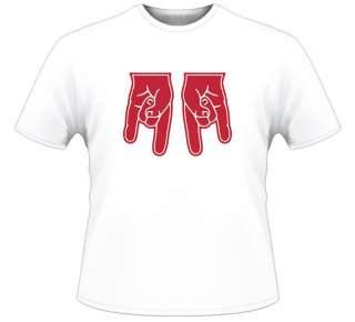 Texas Sucks Nebraska Upside Down Tech NEW White T Shirt
