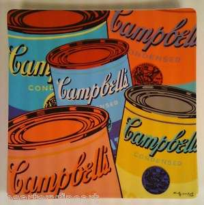ANDY WARHOL Campbells Soup 2005 Wall Plate by Rosenthal Porcelain