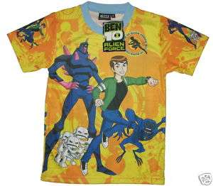 BNWT Boys Kids BEN 10 s/s t shirt S Age 4 5   FREE SHIP