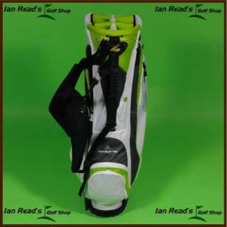 Cobra LS 11 Carry Stand Golf Bag Wht/Lime/Charcoal New