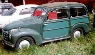 The Topolino was an automobile model manufactured by Fiat from