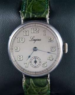 Vintage LONGINES Swiss Officers trench Watch UHREN RELOJ MONTRE