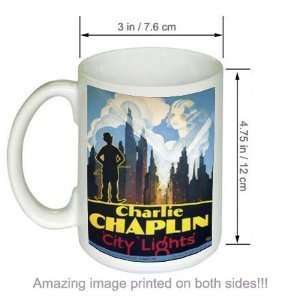 City Lights Vintage Charlie Chaplin Movie COFFEE MUG (2