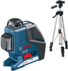 Bosch Livella laser lineare GLL 2 80 P + treppiede