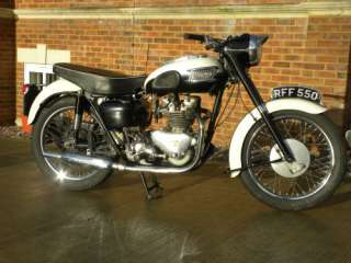 LOVELY TRIUMPH TIGER 100 500cc 1959