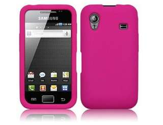 NEW HOT PINK GEL CASE SKIN FOR SAMSUNG GALAXY ACE S5830