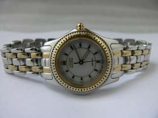 Citizen Womens Eco Drive Stainless Steel Two Tone Watch
