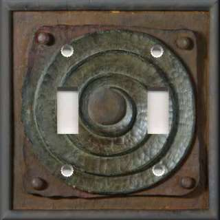 Light Switch Plate Cover   Wall Decor   Image Of Rustic Iron