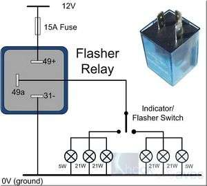 Flasher Relay 12V Car Motorcycle Hella Compatible