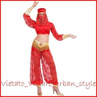 COSTUME ODALISCA DONNA TG 44 M ARABA CARNEVALE PARTY FESTE