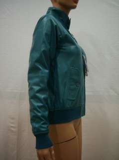 GIUBBOTTO/JACKET IN PELLE CARNABY LEATHER SMERALDO/EMERALD TG.8 DONNA