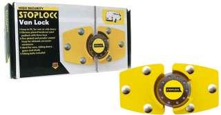 HIGH SECURITY VAN LOCK VEHICLE SAFETY PADLOCK STEEL