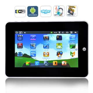 TABLET PC ANDROID 2.2 WIFI 7 POLLICI ITALIANO USB ITALIANO