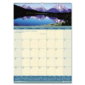 House of Doolittle  Landscapes Monthly Wall Calendar, 12
