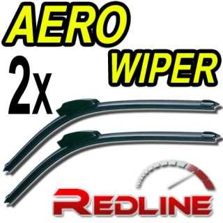 Aero Flat Wiper Blades Mitsubishi Lancer evo 6 7 8 9