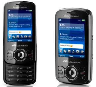SONY ERICSSON SPIRO W100i MOBILE PHONE BLACK UNLOCKED