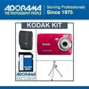 Kodak EasyShare Mini M200 Digital Camera Red Bundle