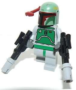 ORIGINAL NEW BOBA FETT lego star wars figure VERY RARE HELMET
