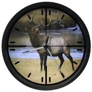 La Crosse Technology 12 Inch Wildlife Scope Clock with