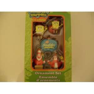 Nickelodeon SpongeBob Squarepants Ornament Set Everything