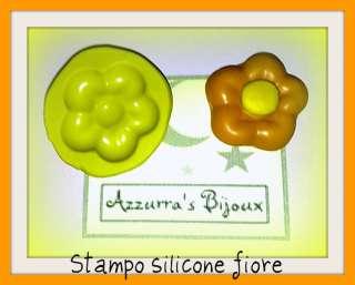 Stampini in silicone per fimo fiore