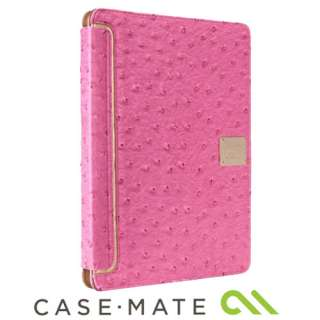 CASE MATE PINK LEATHER VENTURE CASE STAND FOR iPAD 2 0846127035392