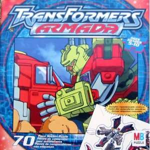 Transformers Armada 70pc. Puzzle: Toys & Games