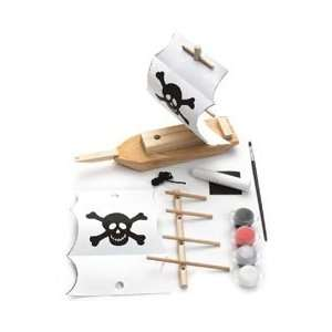 Creativity For Kids Activity Kits Pirate Ship (Makes 1) CK