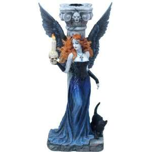 Gothic Angel Fantasy Candle Holder: Home & Kitchen