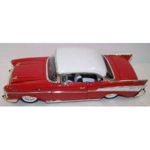 Jada Toys 1/24 Scale Diecast Showroom Floor 1957 Chevy Bel