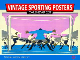 Sporting Posters   12 Month London Transport Museum 2011 Calendar