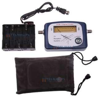 Puntatore Misuratore di Campo Antenna Digitale Terrestre Finder DVB T