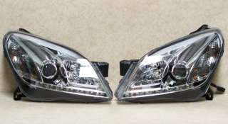 VAUXHALL ASTRA H MARK 5 LED CHROME DRL DAYLIGHT RUNNING LIGHTS DEVIL