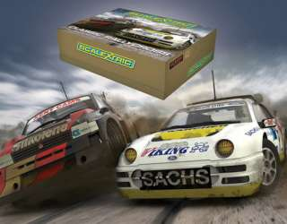 SCALEXTRIC Slot Car C3267A Rallycross Champions (Ford RS200 / Metro