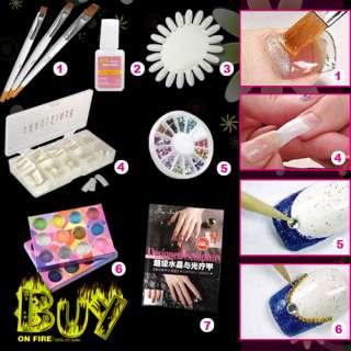 Paq. Pro Kit de Gel UV para crear uñas geles y arte 3D