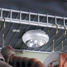 Auto On Off Led Puck Lights  Home Living  SkyMall