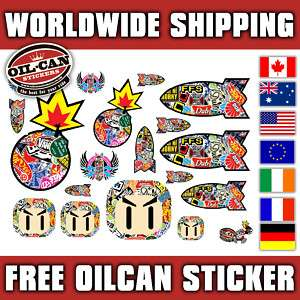 18x sticker bombing stickers euro jdm OLD SKOOL BOMB