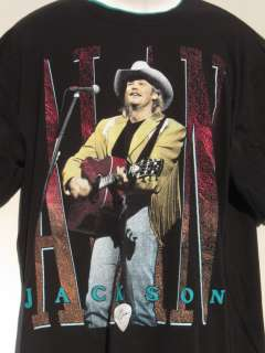 ALAN JACKSON 1994 Country Concert Tour BLACK T Shirt XL
